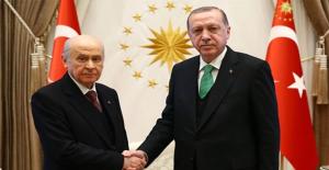 """""""Yerel Seçimde İttifak Olacak mı?"""" Sorusuna Erdoğan'dan Yanıt: Bahçeli ile Konuşuyoruz"""