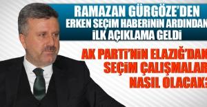 AK Parti Elazığ#039;da Erken Seçime...