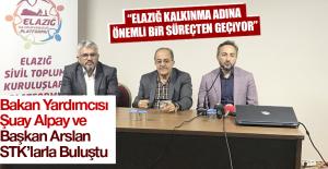 Bakan Yardımcısı Alpay ve Başkan Arslan STK'larla Buluştu