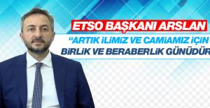 Başkan Arslan'dan Açıklama