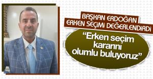 Başkan Erdoğan Erken Seçimi Değerlendirdi