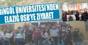 Bingöl Üniversitesi'nden Elazığ OSB'ye Ziyaret