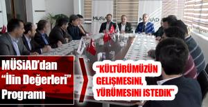 """Bulut ve Arslan, MÜSİAD'ın """"İlin Değerleri"""" Programına Katıldı"""