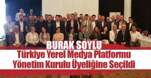 Burak Soylu, Platform Yönetim Kurulu Üyeliğine Seçildi