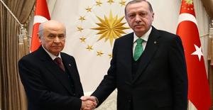 Cumhurbaşkanı Erdoğan MHP Lideri Bahçeli İle Görüşecek