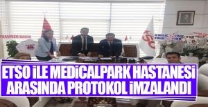 Elazığ TSO İle MedicalPark Hastanesi Arasında Protokol İmzaladı