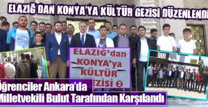 Elazığ'dan Konya'ya Kültür Gezisi Düzenlendi