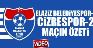 Elaziz Belediyespor – Cizrespor Karşılaşması