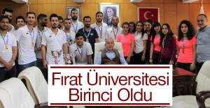 Fırat Üniversitesi Birinciliklere Doymuyor