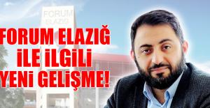 Forum Elazığ AVM İle İlgili Flaş Gelişme!