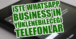 İşte WhatsApp Business'in Yüklenebileceği Telefonlar