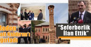 Kaldırım, Hükümet Konağı ve Tarihi Saat Kulesini Gezdi