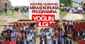 """""""Kültürel ve Kentsel Mirası Korumada Yetkinlik"""" Eğitimi Yapıldı"""