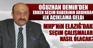 MHP Elazığ'da Erken Seçime Nasıl Hazırlanacak?