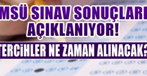 MSÜ Sınav Sonuçları Açıklanıyor!