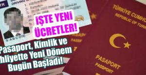 Pasaport, Ehliyet ve Kimlikte Yeni Dönem! İşte Detaylar...