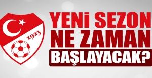 Süper Lig Ve 1.Lig Yeni Sezon Planlaması Açıklandı