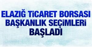 TİCARET BORSASI SEÇİMLERİ BAŞLADI