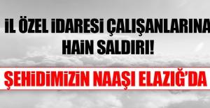 Tunceli'de İl Özel İdaresi Çalışanlarına Hain Saldırı