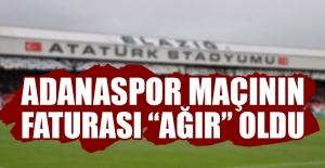 TY Elazığspor'a Ağır Ceza
