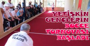 Yetişkin Gençlerin Bocce Turnuvası Başladı