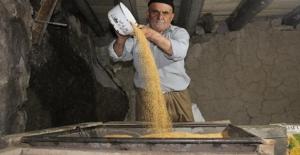 155 Yıllık Taş Değirmende Tahin Üretiliyor