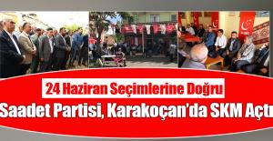Adaylar Karakoçan'da SKM Açılışına Katıldı