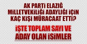 AK Parti#039;den Elazığ Milletvekilliği...