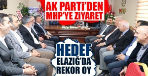 AK Parti'den MHP İl Başkanı Işıkver'e Ziyaret