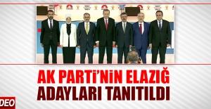 AK Parti'nin Elazığ Milletvekili Adayları Tanıtıldı