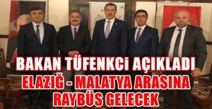 Bakan Tüfenkci Açıkladı, Raybüs Geliyor