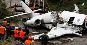 Honduras'ta özel uçak düştü: 6 yaralı