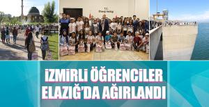 İzmirli Öğrenciler Elazığ'ı Gezdi