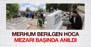 Merhum Prof. Dr. Muhammed Said Berilgen, Dualarla Anıldı