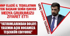 MHP İl Başkanı Işıkver Medya Grubumuzu Ziyaret Etti