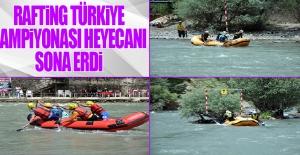 Rafting Türkiye Şampiyonası Heyecanı Sona Erdi
