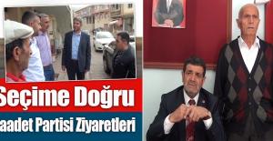 Saadet Partisi Milletvekili Adayları Keban ve Ağın'ı Ziyaret Etti