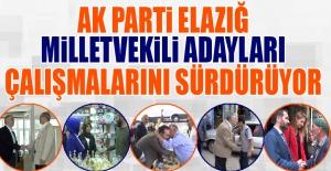 Seçime 24 Gün Kala AK Parti Adayları'nın Çalışmaları