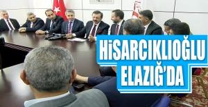 TOBB Başkanı Rifat Hisarcıklıoğlu, Arslan'la Bir Araya Geldi