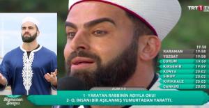 TRT'nin Hilal Kaşlı Hafızı Mustafa Özyılmaz, Sosyal Medyada Olay Oldu