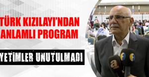 Türk Kızılayı'ndan Anlamlı Program