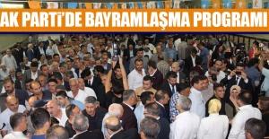 AK Parti'de Bayramlaşma Programı Yapıldı