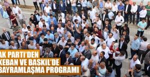 AK Parti'den Keban ve Baskil İlçelerine Ziyaret
