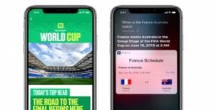 Apple'dan 2018 Dünya Kupası İçin Güncelleme