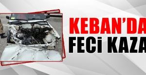 Elazığ-Keban Yolunda Trafik Kazası