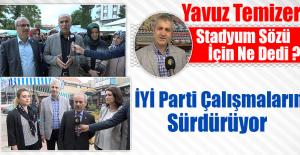 İyi Parti Milletvekili Adayları,Esnafları Ziyaret Etti