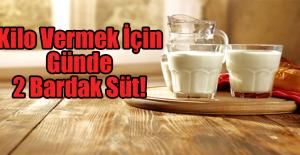 Kilo Vermek İçin Günde 2 Bardak Süt!