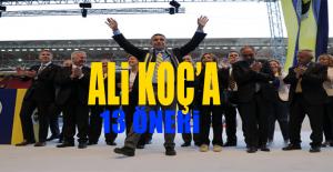 Mehmet Demirkol'dan Ali Koç'a 13 öneri!