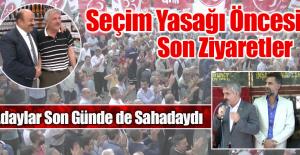MHP Milletvekili Adayları Son Günde de Sahadaydı