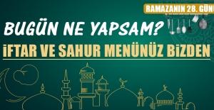 Ramazanın Yirmi Sekizinci Gününde Elazığlılara Özel Menü